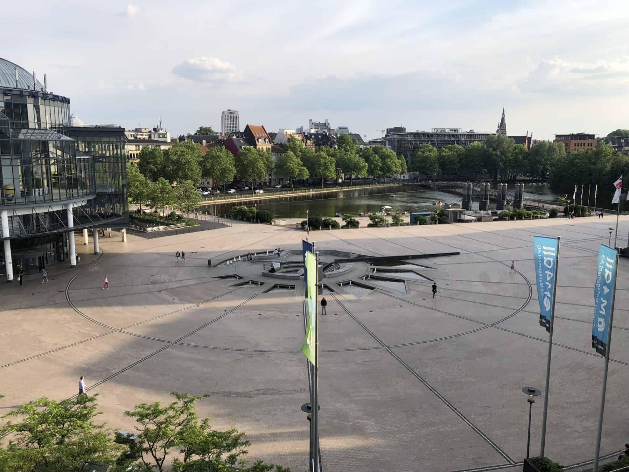 Der Mediapark in Köln